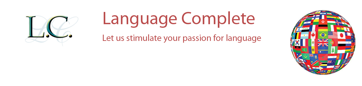 Language Complete banner
